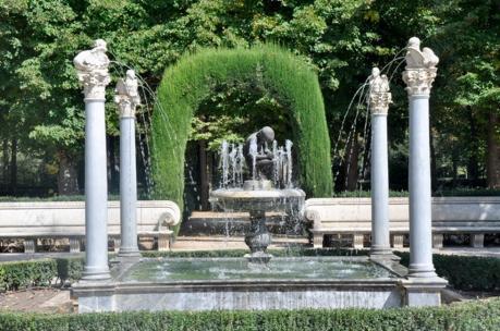 Fuente del Espinario. Jardín de la Isla, Aranjuez.