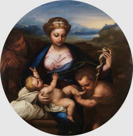 Luca Giordano: Sagrada Familia. Museo del Prado.