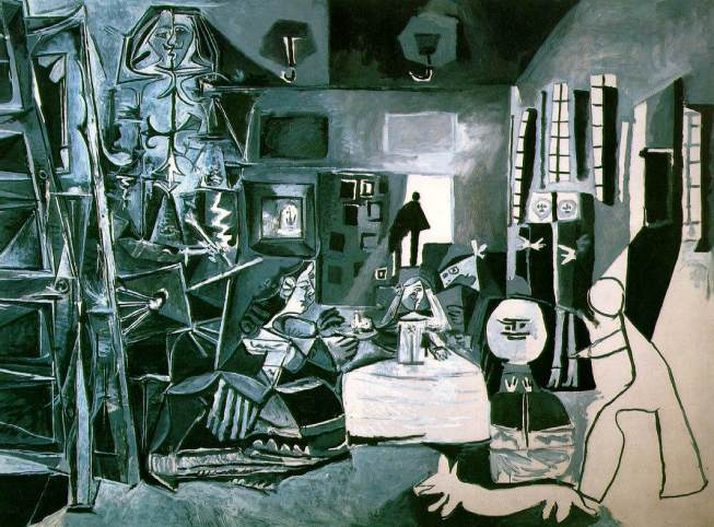 Pablo Picasso: Las Meninas. Barcelona, Museo Picasso.