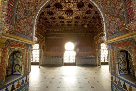 Sala árabe del antiguo Museo del Ejército. Foto: Museo del Prado.