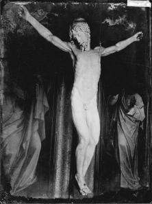 Cellini. Cristo Crucificado (sin paño de pureza). Foto: IPCE (Archivo Ruiz Vernacci)