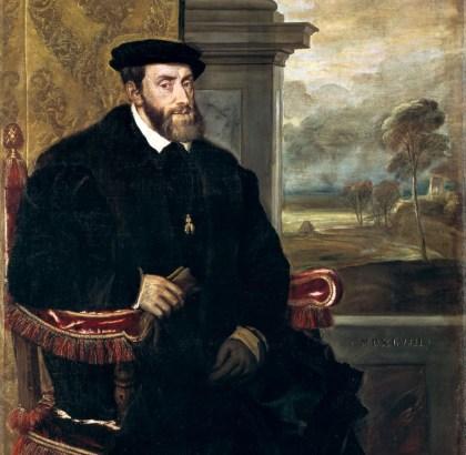 Tiziano: Retrato de Carlos V. Münich, Alte Pinakothek.