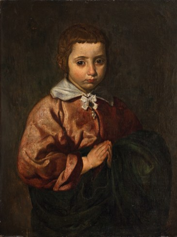 Diego Velázquez: Retrato de Niña o Joven Inmaculada. Abalarte Subastas.
