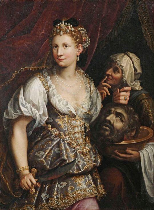 Fede Galizia. Judith y Holofernes. Colección privada. Foto: wikicommons.