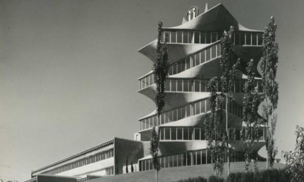 La pagoda creada por Miguel Fisac.