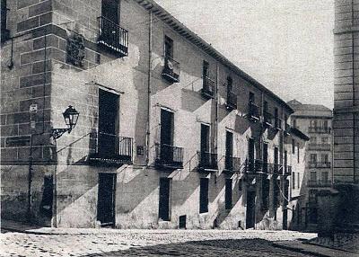 Imagen de la Casa de Iván de Vargas hacia 1928. Foto: IPHE.