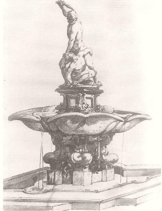 Anónimo. Sansón y el filisteo. ca. 1569. Gabinete de Dibujos y Estampas. Uffizi. Florencia.