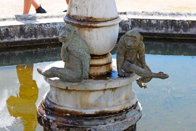 Gianbologna (?): Fuente de los monos (detalle). Jardines del Bóboli. Florencia. Foto: Geco Travels [http://www.gecotravels.com/giardino-di-boboli-firenze/]