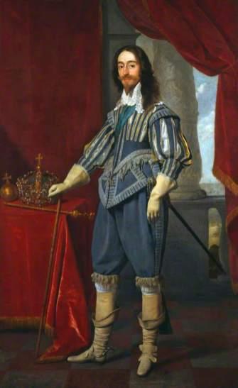 Daniel Mytens: Carlos I de Inglaterra. 1631. National Portrait Gallery. Londres. Foto: www.artuk.org