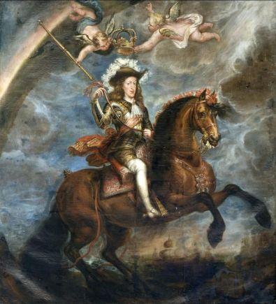 Francisco Rizi: Carlos II a caballo. Ayuntamiento de Toledo.