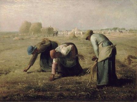 Espigadoras (1857) Millet. Foto: wikipedia.