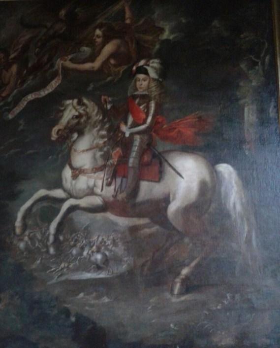 Sebastián Herrera Barnuevo y taller real: Carlos II niño a caballo. Colección particular.