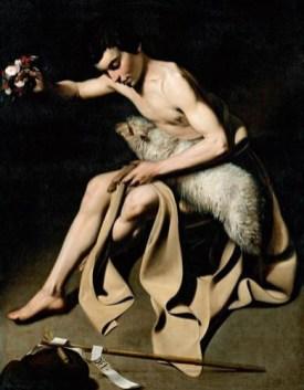 Juan Bautista Maíno. San Juan Bautista. Kunstmuseum Basel. Basilea.