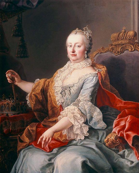 Retrato de María Teresa I por Martin van Meytens (1759). Foto: Wikipedia.