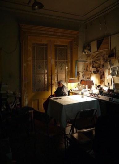 Alex van Gelder: Louis Bourgeois en su casa