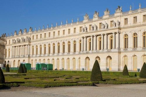 Fachada de Le Veau del Palacio de Versalles (1668-1678). Foto: wikicommons (Patrick Nouhailler)