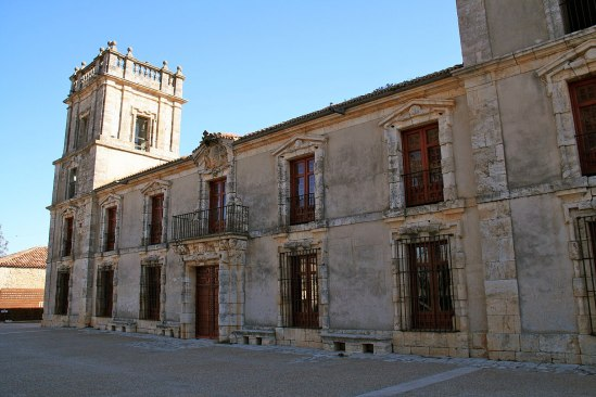 Nuevo Baztán. Fachada del Palacio Goyeneche. Foto: wikicommons (Tamorlan)