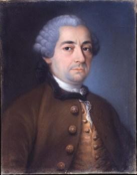 María Josefa Carón (1725 – 1784): Retrato de Diego de Villanueva, 1761, 55x45cm. Madrid, Real Academia de Bellas Artes de San Fernando.