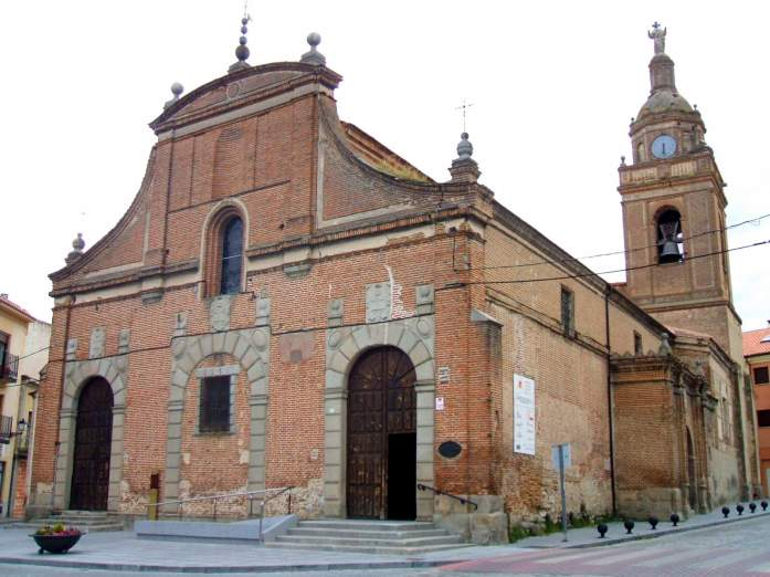 Iglesia de Santo Domingo de Silos, Arévalo, ca. 1572. foto: wikimedia.