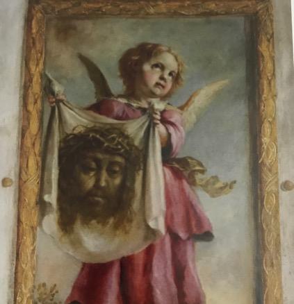 Ángel con la Verónica. Foto: Tena de Bethercourt, 2010.