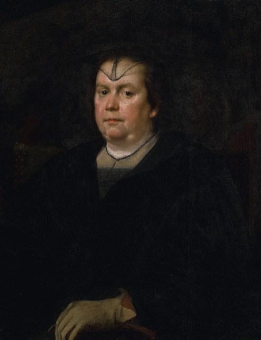 Diego Rodríguez de Silva y Velázquez, Retrato de Olimpia Maidalchini. Salió a subasta en Sotheby's en julio de 2019.