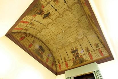 Bóveda del despacho de la secretaría de la dirección del CEPC. Fuente: cepc.gob.es