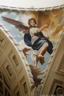 Recreación del artista ruso Boris Lugovskoy de la figura del arcángel San Gabriel. Fotografía: Viajar con el Arte.