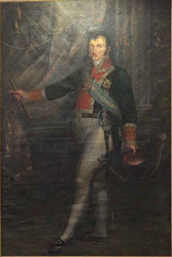 Doménec Bosch, Fernando VII, 1809. Paeria de Cervera. Foto. Investigart.