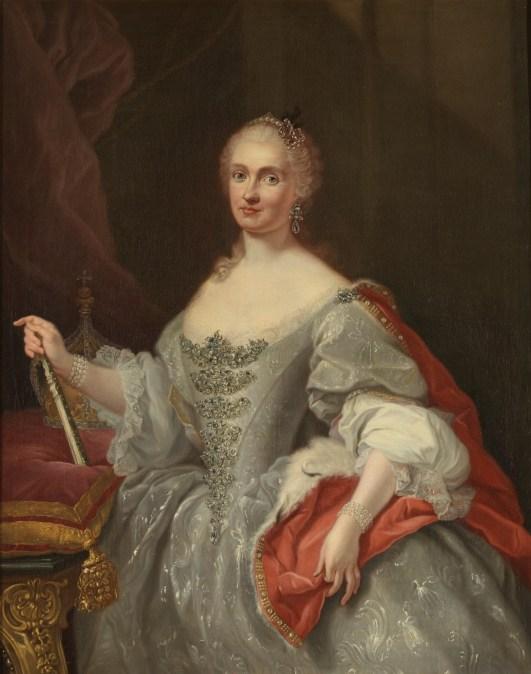 Giuseppe Bonito, María Amalia de Sajonia, ca. 1745. Madrid, Museo Nacional del Prado.