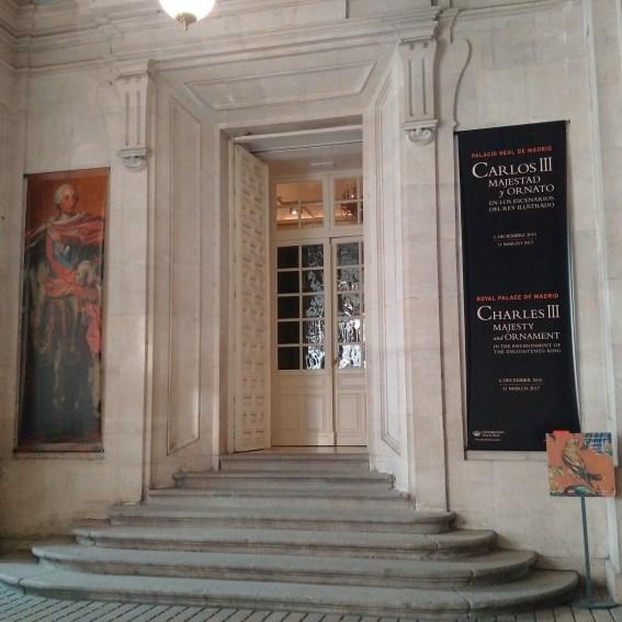 Entrada al Cuarto de Génova en el Palacio Real de Madrid. Fuente: montejasso.blogspot.com