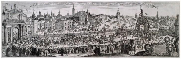 Pedro Tortolero, Entrada de Felipe V en Sevilla en 1729. Sevilla, Fundación Focus Abengoa.