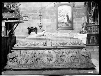 Domenico Fancelli. Sepulcro del príncipe D. Juan. Santo Tomás de Ávila. Foto: IPCE. Archivo Moreno.