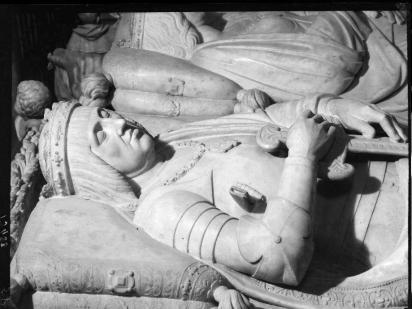 Domenico Fancelli. Fernando el católico (detalle del sepulcro de los Reyes Católicos). Foto: IPCE. Archivo Moreno.
