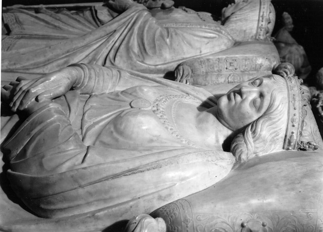 Domenico Fancelli. Isabel la católica (detalle del sepulcro de los Reyes Católicos). Foto: IPCE. Archivo Moreno.