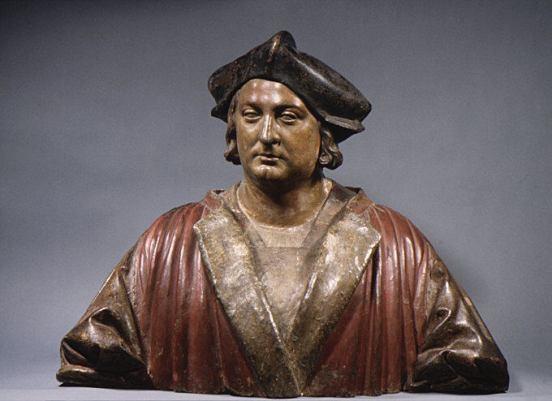 Pietro Torrigiano. Retrato de un desconocido (comerciante florentino?). ca. 1510-1515. Metropolitan Museum. Nueva York.