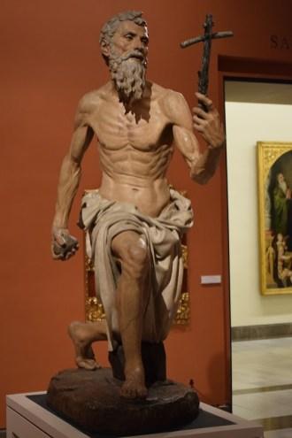 Pietro Torrigiano. San Jerónimo. Museo Bellas Artes de Sevilla. Foto: Cipripedia