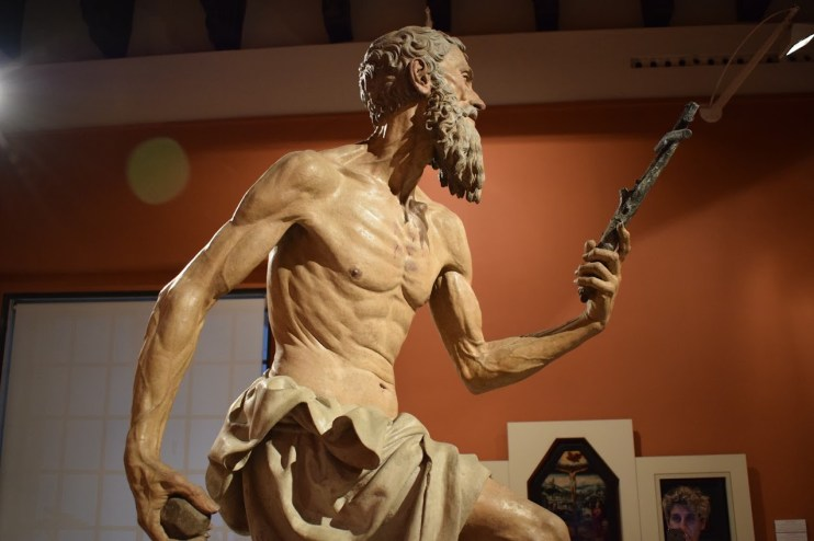 Pietro Torrigiano. San Jerónimo (detalle). Museo de Bellas Artes de Sevilla. Foto: Cipripedia