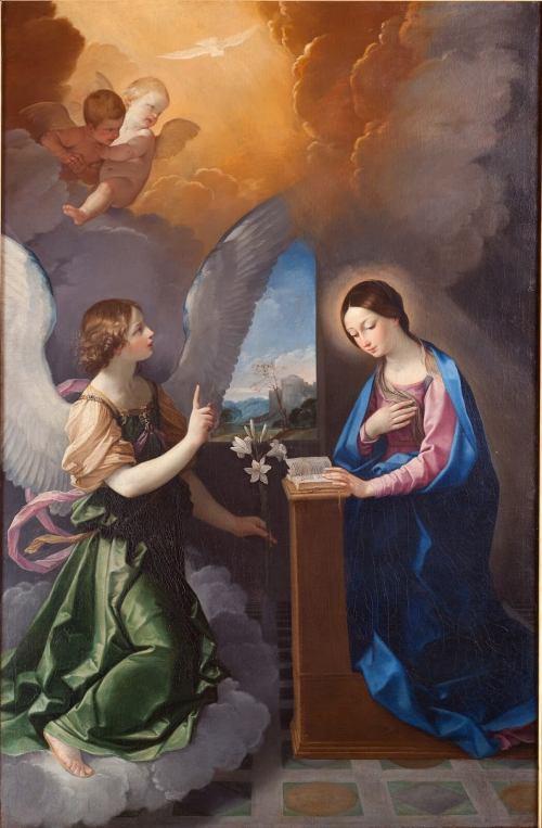 Guido Reni, Anunciación, 1628-1629. Pinacoteca Civica de Ascoli Piceno.