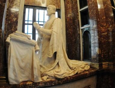 Pompeo Leoni. La infanta Juana en la capilla funeraria de Juana de Austria. Descalzas Reales de Madrid. Foto: madridiario.