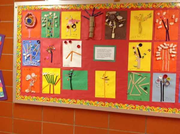 Preschool Tree Bulletin Board