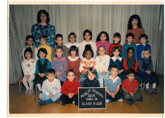 1990 class photo