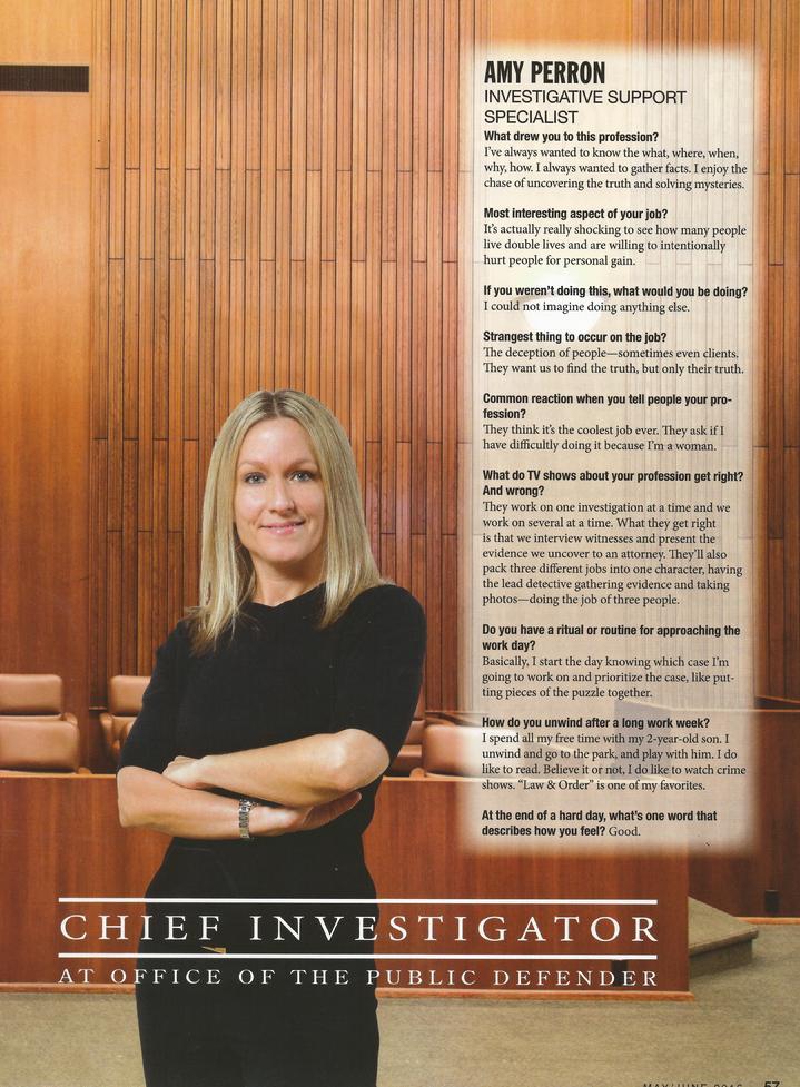 Defense Investigator Cover Letter