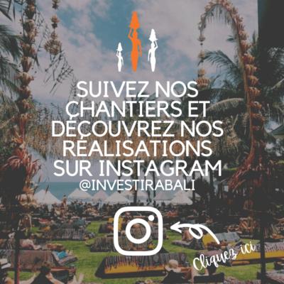 Investir a bali instagram