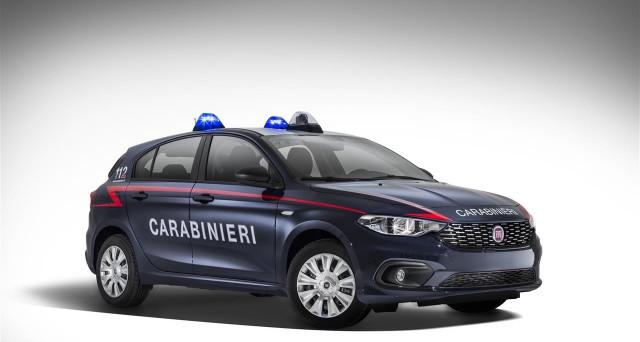 Fiat Tipo Carabinieri imminente il suo arrivo nel parco