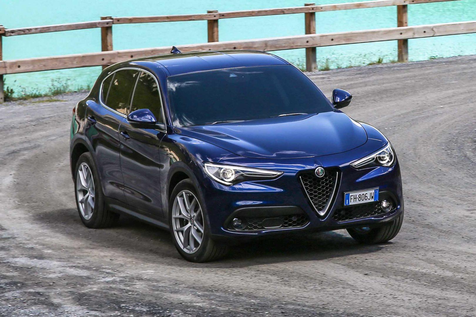 Alfa Romeo Stelvio cresce bene in Europa in calo Giulia e