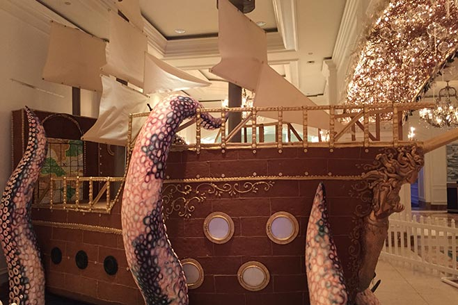 Gingerbread Ship