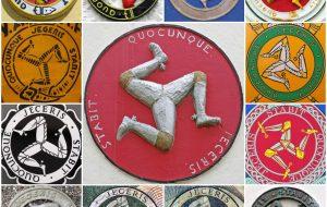 Isle of Man - Three Legs of Man with motto