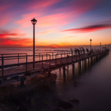 Pier of colours