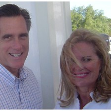Mitt Romney and Ann Romney at Leadership Conference on Mackinac Island (Michigan) in 2007