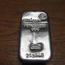 Silver ingot 1 kg